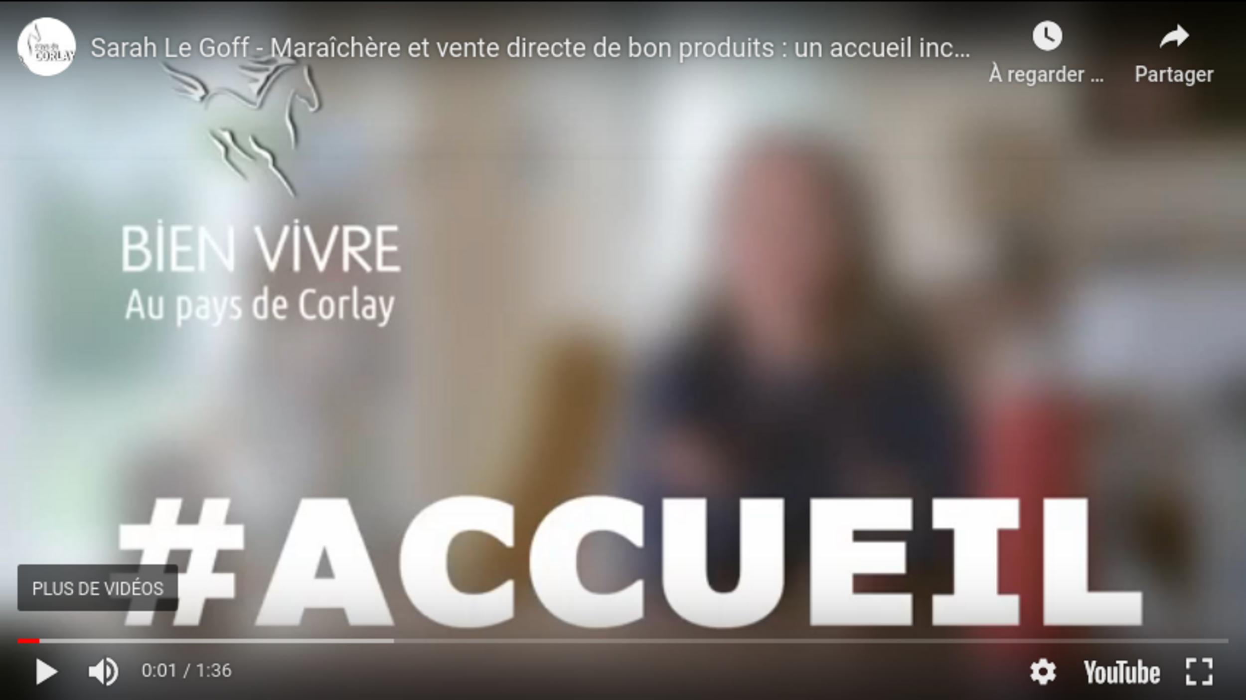 Sarah Le Goff - Maraîchère et vente directe de bon produits :